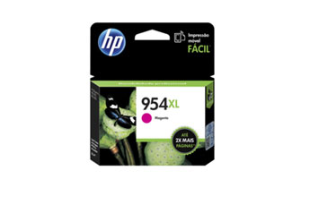CARTUCHO HP 954XL MAGENTA (L0S65AL) HIGH YIELD - PRINT CARTRIDGE - 1 X PIGMENTED COMPATIBLE PRODUCTS — HP OFFICEJET 7740 (G5J38A) - OFFICEJET PRO 8210 / 8710 /8720
