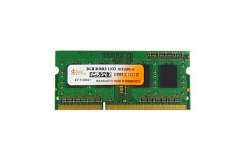 MEMORIA 2GB (1X2GB) GENERICA, P/LAPTOP, DDR3, 1333MHZ, PC3-10600, NO-ECC.
