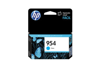 CARTUCHO HP 954 CYAN (L0S50AL) - PRINT CARTRIDGE - 1 X PIGMENTED COMPATIBLE PRODUCTS —HP OFFICEJET 7740 (G5J38A) - OFFICEJET PRO 8210 / 8710 /8720
