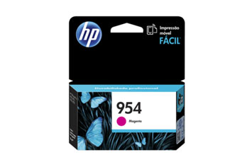 CARTUCHO HP 954 MAGENTA (L0S53AL) - PRINT CARTRIDGE - 1 X PIGMENTED COMPATIBLE PRODUCTS — HP OFFICEJET 7740 (G5J38A) - OFFICEJET PRO 8210 / 8710 /8720