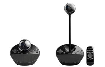 Camara web logitech bcc950 para conferencias, 1080p 30fps, microfo