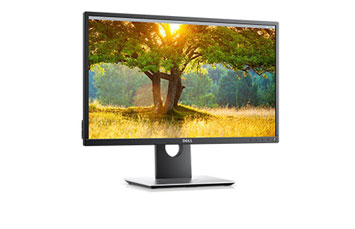 MONITOR DELL 24 PULGS. (23.8) P2417H, 1080P, 1 HDMI + 1 DISPLAY PORT + 1 VGA + 2 USB 3.0
