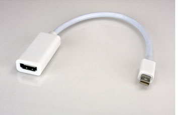 ADAPTADOR DE MINI DISPLAYPORT A HDMI HEMBRA 1080P. (XTC-331)