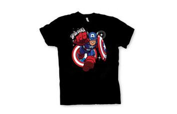 Tshirt algodon transfer negro