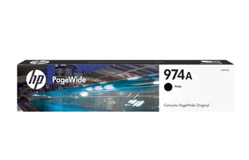 CARTUCHO HP 974 (L0R96AL) - PRINT CARTRIDGE - 1 X PIGMENTED BLACK - 3,500 PAGES, HP PAGEWIDE PRO PRINTER 452DW (D3Q16C) - 577DW (D3Q21C) - 477DW (D3Q20C)