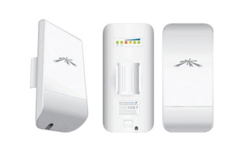ACCESS POINT UBIQUITI NANOSTATION LOCO M2 INDOOR OUTDOOR 2.4GHZ 150 MBPS+ 8DBI CPE DUAL POLARITY