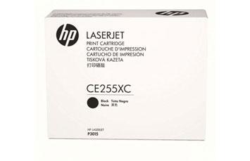 TONER HP 255XC CE255XC NEGRO GENUINE 12.500 PAGINAS COMPATIBLE CON IMPRESORA P3015