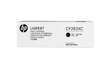 TONER HP 83XC - CF283XC - (CONTRACT) TONER CARTRIDGE - 1 X BLACK - 2200 PAGES - FOR LASERJET PRO MFP M125NW, MFP, M201DW, M225DW