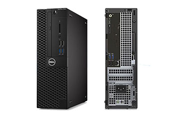 COMPUTADORA DELL OPTIPLEX 3050 SMALL FORM FACTOR, I3-7100 DC/3MB/ 3.9GHZ, 4GB (1X4GB) DDR4 2400MHZ , 1TB, DVD+/-RW, W10 PRO 64 (ESP) ING, FRA, ESP, 1X HDMI/1X DISPLAY-PORT, NO PUERTO VGA, INCLUYE TECLADO+MOUSE