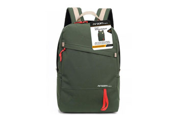 BULTO ARGOM CAPRI BACKPACK 15.6 PULGS. COLOR VERDE.