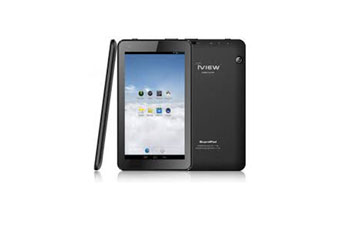 TABLETA IVIEW SUPER PAD 7 PULGS. 1024 X 600, QUAD CORE 1.3 GHZ, 8GB FLASH, 512MB RAM, ANDROID, CAM 0.3MP/2.0MP, MICROSD/MICROUSB, WIFI/, NEGRO (IVIEW 733TPC)