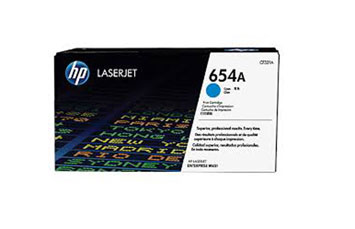 TONER HP 654A (CF331A) - CYAN - YIELD 15,000 PAGES - FOR LASERJET M651