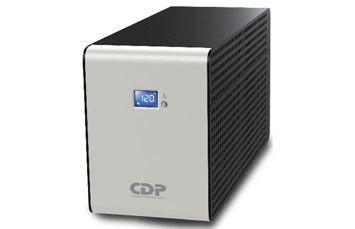 UPS CDP R-SMART1510, 1500VA - 900 WATTS 5 SALIDAS CON RESPALDO DE BATERÍA Y 5 CON SUSPENSION DE PICOS, INDICADOR LED, 10 ENTRADAS, NEGRO.