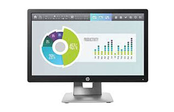 MONITOR HP ELITEDISPLAY E202 20 PULGS - 1600 X 900 - LED - IPS - 250 CD/M² - 1000:1 - 7 MS - HDMI, VGA, DISPLAYPORT - BLACK - SMART BUY