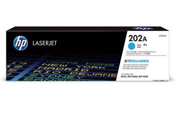 TONER HP 202A (CF501A) CYAN, LASERJET PRINT CARTRIDGE - 1300 PAGINAS - PARA M254DW / M281FDW