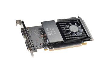 TARJETA DE VIDEO EVGA GEFORCE GT 1030 SC 2GB/64BIT/GDDR5, SINGLE SLOT, 2 DVI-I, LOW PROFILE, PCI-E 3.0.