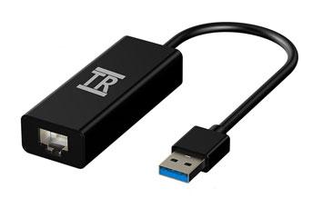ADAPTADOR DE RED USB 3.0 A RJ45 GIGABIT AGILER AGI-1190, 100/1000MBPS