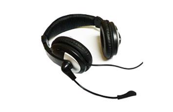 AUDIFONO HEADSET CON MICROFONO AGILER SILVER/BLACK (AGI-0217)