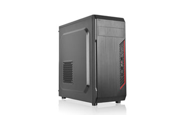 CASE AGILER GAMING ATX NEGRO CON PANEL TRANSPARENTE LATERAL, 4 ABANICOS 120MM NEGRO, NO INCLUYE POWER SUPPLY (AGI-C011)