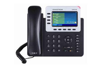 TELEFONO IP GRANDSTREAM GXP-2140, 4 TECLAS DE LINEA, 4 CUENTAS SIP, 2 PUERTOS ETHERNET GIGABIT CON POE, BLUETOOTH INTEGRADO, USB, CONECTOR RJ9 PARA AUDIFONOS, CODEC DE VOZ G.711,G.722 (BANDA ANCHA), G.729NB, G.726, 1LBC, DTMF EN BANDA Y FUERA DE BANDA (EN AUDIO, RFC2833, SIP INFO), 12 V, 1.0 A, ADAPTADOR A/C INCLUIDO.