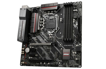 MB MSI Z370M MORTAR, 8VA GEN I3/I5/I7 LGA 1151 SOCKET, ATX, 4X DDR4 2667/ 2400/ 2133, 2XPCIE 3.0 X16, 2XPCIE 3.0 X1, 2X M.2, 4X SATA 6GB/S, 1X HDMI, 1X DP, 1X DVI-D, 4X USB3.1 GEN1, 2X USB2.0 GEN1, 1X OPTICAL S/PDIF-OUT ,GIB LAN 10/100/1000, 7.1-CHANNEL HIGH DEFINITION AUDIO.