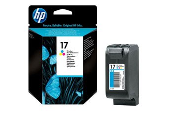CARTUCHO HP 17 TRI COLOR MODELO C6625DA