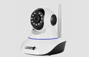 CAMARA IP INALAMBRICA LOGAN, DOME, 1MPX CON WIFI, 3.6 MM LENS, AUDIO BIDIRECCIONAL, VISION NOCTURNA, DETECCION MOVIMIENTO.
