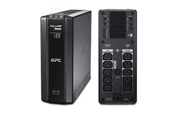 UPS APC BR1000G BACK-UPS PRO, 600 WATTS / 1000 VA, INPUT 120V / OUTPUT 120V, INTERFACE PORT USB