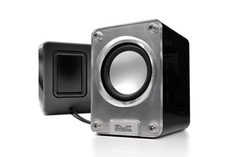 BOCINA KLIPX 2.0 KES-212 GRIS, 6W USB POWER