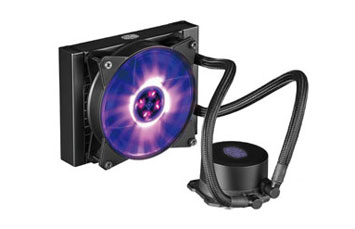 ABANICO PARA CPU COOLER MASTER, MASTERLIQUID ML120L RGB (LIQUID COOLING) 120MM, COMPATIBLE CON LOS SOCKETS: INTEL LGA 2066 / 2011-V3 / 2011 / 1151 / 1150 / 1155 / 1156 / 1366 / 775 SOCKETAMD AM4 / AM3+ / AM3 / AM2+ / AM2 / FM2+ / FM2 / FM1 SOCKET