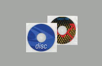 COVER CD, SOBRE TRANSPARENTE VINYL POR PAQUETE DE 100/1.