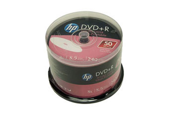 DVD-R HP 8X WHITE PRINTEABLE (50 PACK)