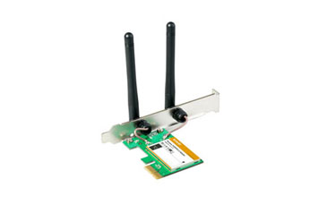 TARJETA DE RED WIRELES PCI-E, TENDA N300 (W322E)