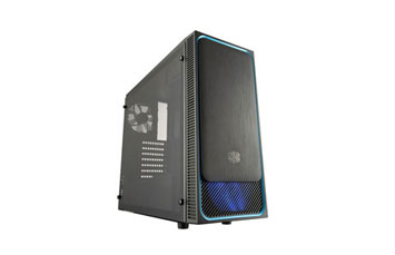 CASE COOLER MASTER, MASTERBOX E500L, MID TOWER, BLACK, USB 3.0 X2, AUDIO IN / OUT, 4 EXPANSION SLOT, 2X 2.5