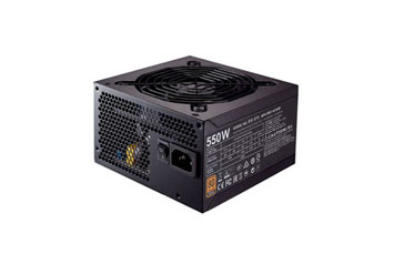 POWER SUPPLY COOLER MASTER MWE 550W BRONZE CERTIFIED ACTIVE PFC ATX12V V2.31/EPS 12V V2.31.