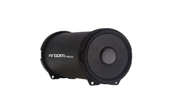 BOCINA ARGOM BLUETOOTH, 6W, BAZOOKA AIR SPEAKER HIFI INDOOR/OUTDOOR WIRELESS SPEAKER, BLACK.
