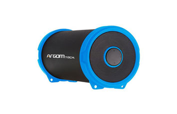 BOCINA ARGOM BLUETOOTH, 6W, BAZOOKA AIR SPEAKER HIFI INDOOR/OUTDOOR WIRELESS SPEAKER, BLUE