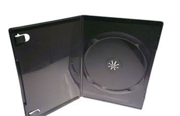 CASE DE DVD7MM DE 7MM, NEGRO