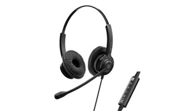 AUDIFONO CON MICROFONO KLIPX VOXPRO-S USB, ESTEREO, CONTROL DE VOLUMEN