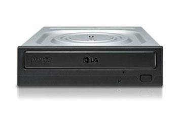 DVDRW INTERNO LG DVD REWRITER LG 24X SATA 0.5MB, DVD-ROM 11.08 MBYTES/S (8X) MAX, CD-ROM 3,600 KB/ S (24X) MAX