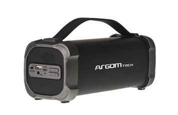 BOCINAS ARGOM SLAMBOX METRO BLUETOOTH, HI-FI BT, MICROSD, AUX (3.5MM), 900 WATTS, RECARGABLE(LITHIUM-ION 1500 MAH)