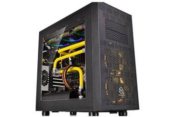 CASE THERMALTAKE CORE X31 TG SERIES, MID TOWER - ATX BLACK, TAPA TRANSPARENTE, PUERTO USB 3.0 X2 - USB 2.0 X2 + AUDIO HD X1, MICRO ATX, ATX, MINI ITX, 7 EXPANSION SLOTS, BAHIAS 3 X 3.5 OR 3 X 2.5,