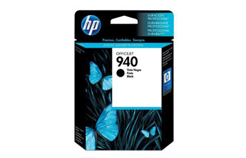 CARTUCHO HP 940 NEGRO OFFICEJET INK CARTRIDGE (C4902AL) 22ML/28ML