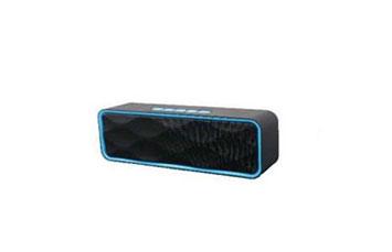 BOCINA MYO-B30, ALTAVOZ MYO BLUETOOH, INALAMBRICO, MODO FM, TARJETA USB / MICRO SD, NEGRO/ROJO