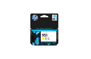 CARTUCHO HP 951 - PRINT CARTRIDGE - 1 X PIGMENTED YELLOW COMPATIBLE PRODUCTS —HP BUSINESS INKJET AND OFFICEJET PRO PRINTERS8100 - N811AHP MULTIFUNCTION AND ALL-IN-ONE PRODUCTS8600 - A911A, 8600 PLUS - N911G, 8600 PREMIUM - N911N