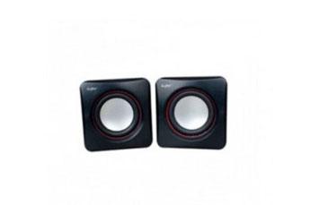 BOCINA USB AGILER, 300W,CONTROL DE VOLUMEN, NEGRO