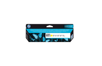 CARTUCHO HP 971 YELLOW ORIGINAL INK CARTRIDGE FOR PRINTER OFFICEJET PRO X476DW, X576DW, X451DW