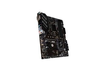 MOTHERBOARD MSI Z390-A PRO LGA 1151 ATX, 8VA Y 9NA GENERACION, SOCKET LGA 1151, 4 X DUAL-CHANNEL DDR4-4400 (OC), 2 X USB 2.0 TYPE-A, 1 X USB 3.1 GEN 2 TYPE-A, 1 X USB 3.1 GEN 2 TYPE-C, 2 X USB 3.1 GEN 1 TYPE-A, 1 X VGA ,1 X DVI-D , 1 X DISPLAYPORT