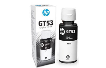 BOTELLA DE TINTA HP GT53 NEGRO 90 ML PARA IMPRESORA GT 5810 - 5820 (1VV22AL) INK TANK 315 - 415 - SMART TANK 500 Y 600
