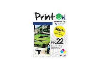 CARTUCHO PRINTON 22 COLOR COMPATIBLE (C9352AL), PARA 1360, 1460, 1560, 2360, D2460, F380, F4180
